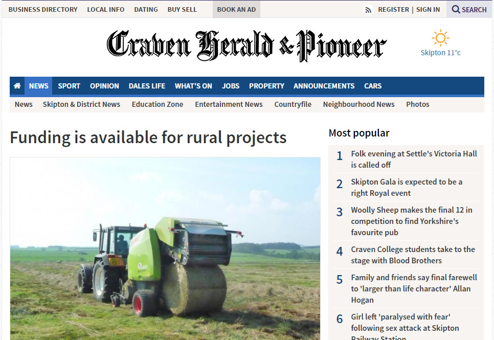 Funding is available for rural projects