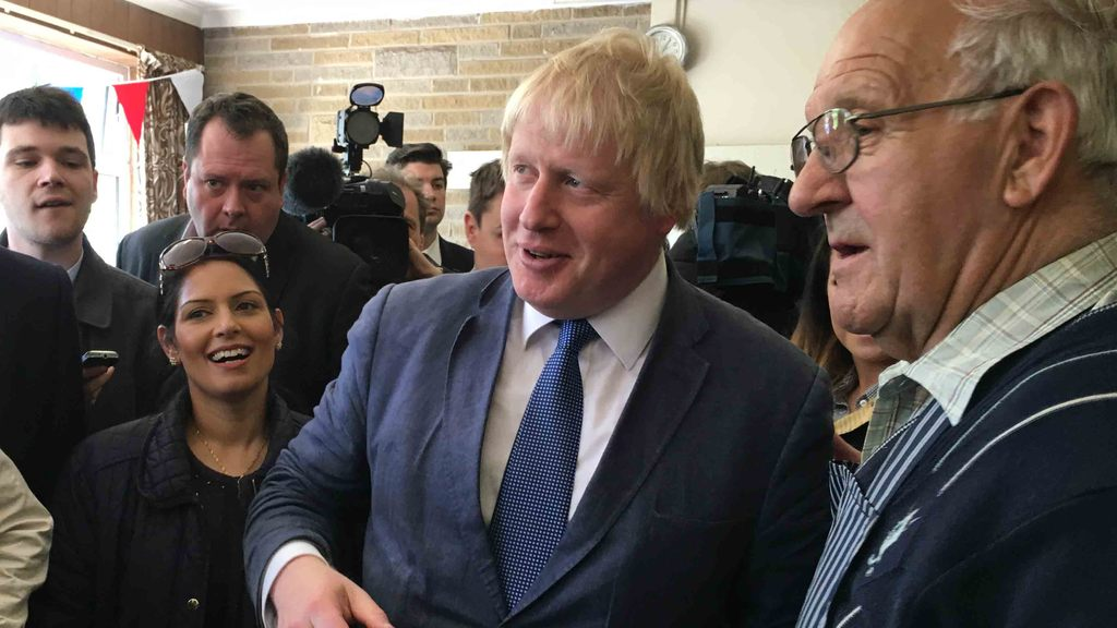 VIDEO: Boris Johnson confident farm subsidies 'will remain as they are' if UK votes to leave EU