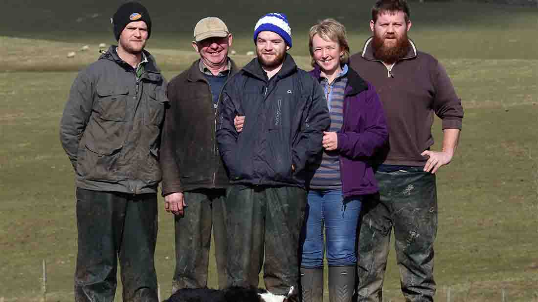Farming unites to support Northumberland family's tragedy