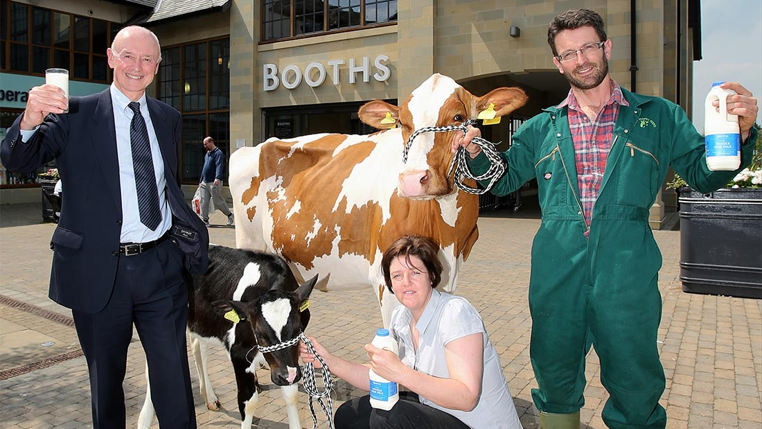 Booths celebrates two years of Fair Milk Scheme