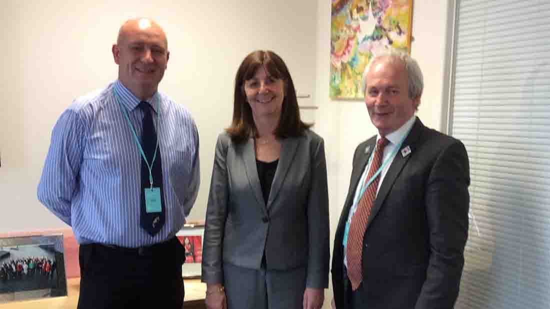 NFU Cymru holds first meeting with new environment secretary