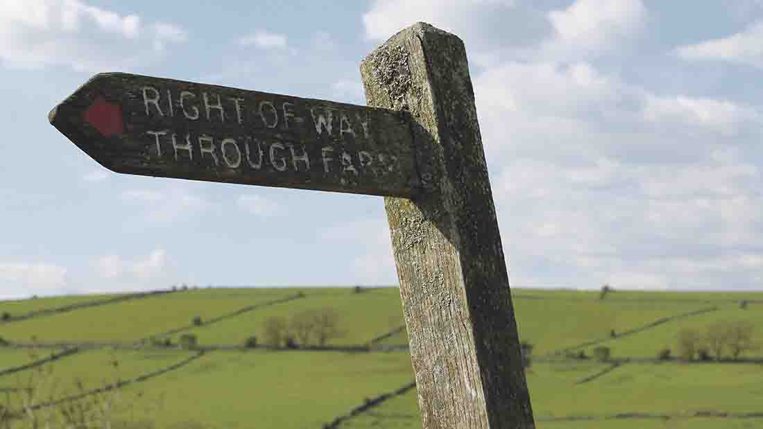 Top tips for farmers: Trespass and where you stand with the law