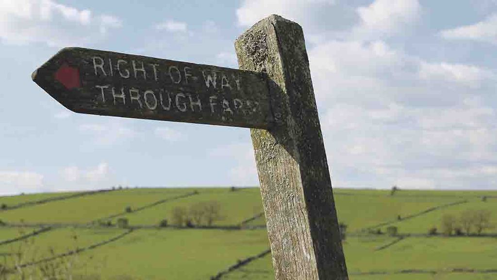 Public footpaths and trespass highest on farmers list of safety concerns