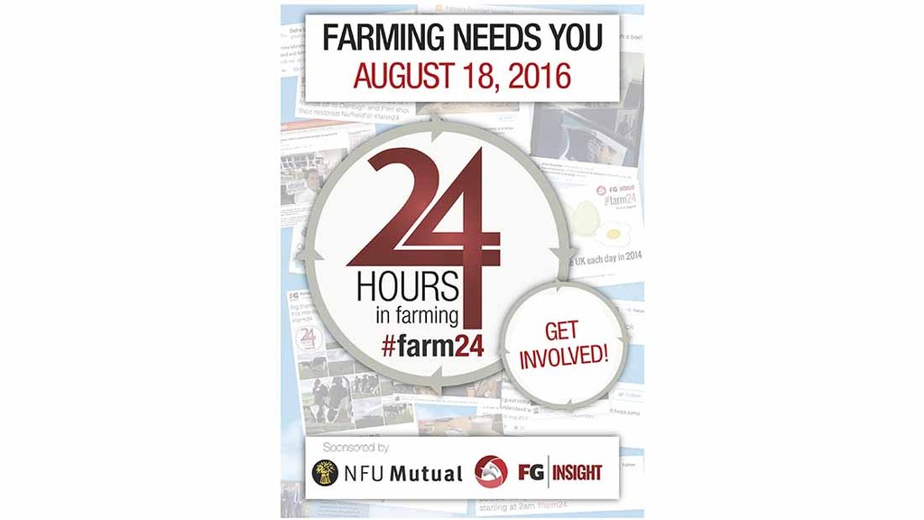 Promote 24 Hours in Farming to win £500 cash