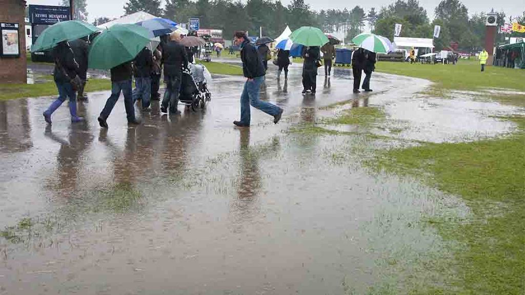 Derbyshire County Show cancelled due to flooding