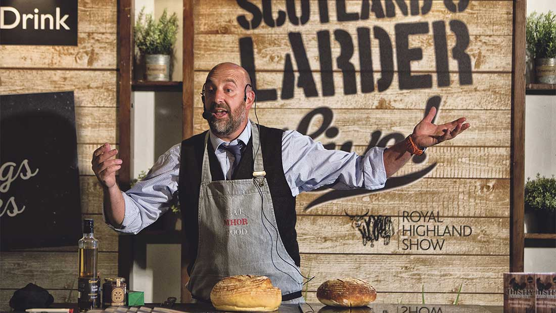 Food lessons for about 30,000 children at Royal Highland Show