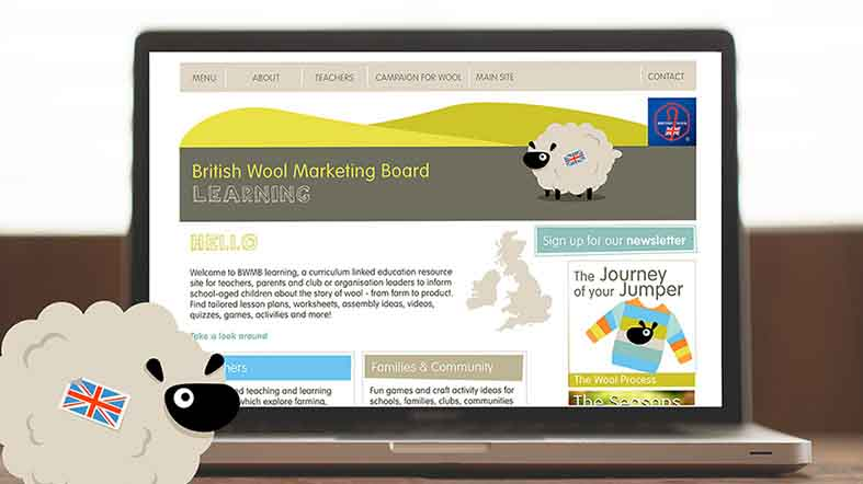 British Wool launch new website to inspire next generation