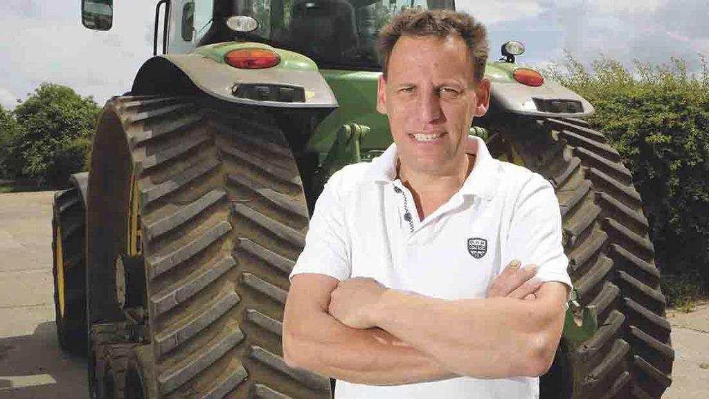 "Steve Heard: ""Soil has been dry and hard, making like tricky"""