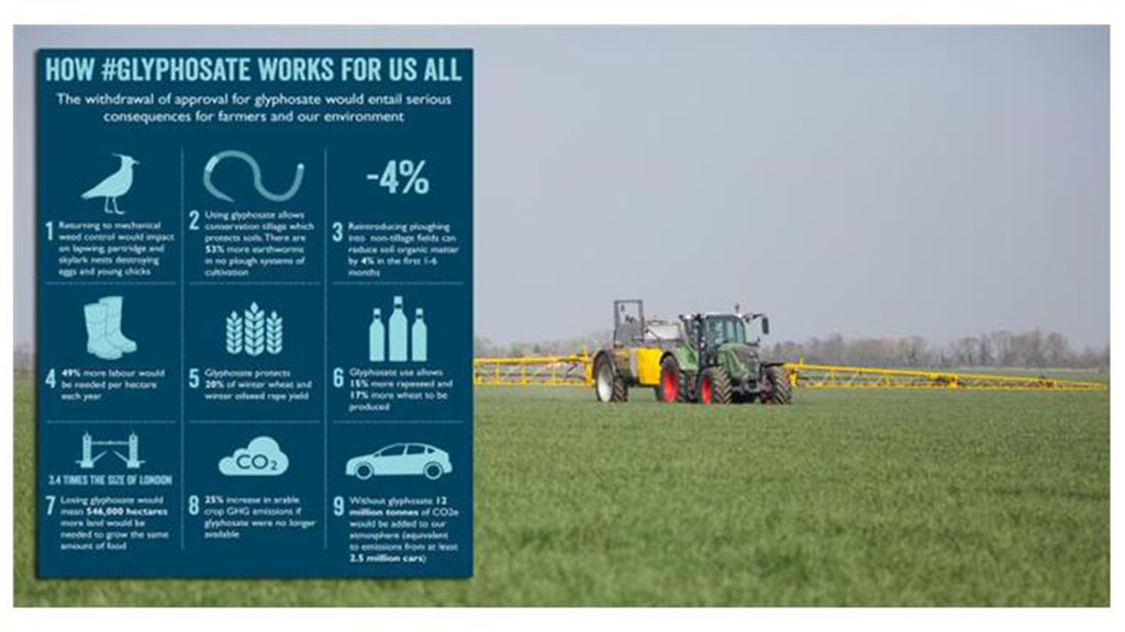 Why glyphosate 'works for us all'
