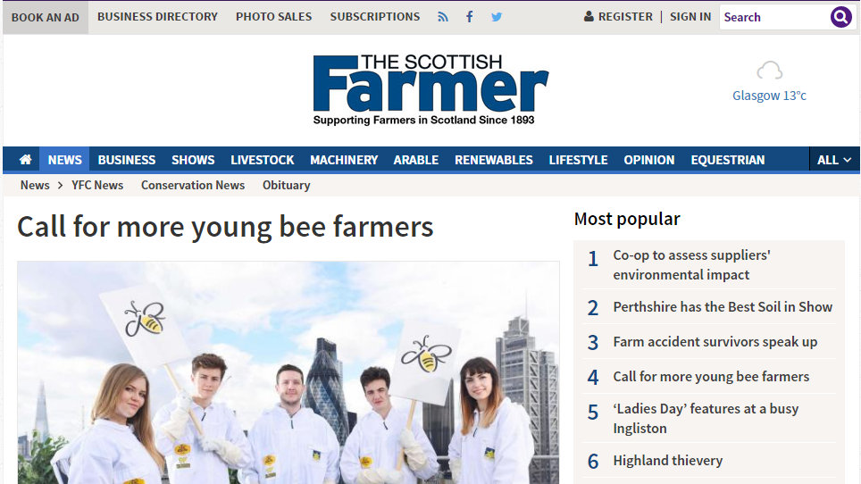 Call for more young bee farmers