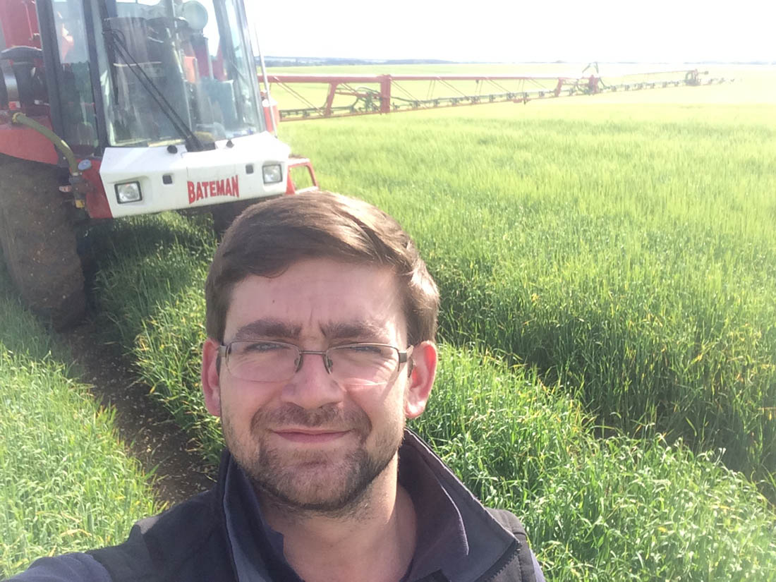 Young Farmer Focus - Chris Haylock, Suffolk