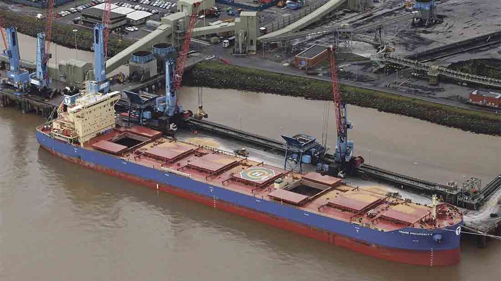 Biggest UK shipment of grain to set sail this month
