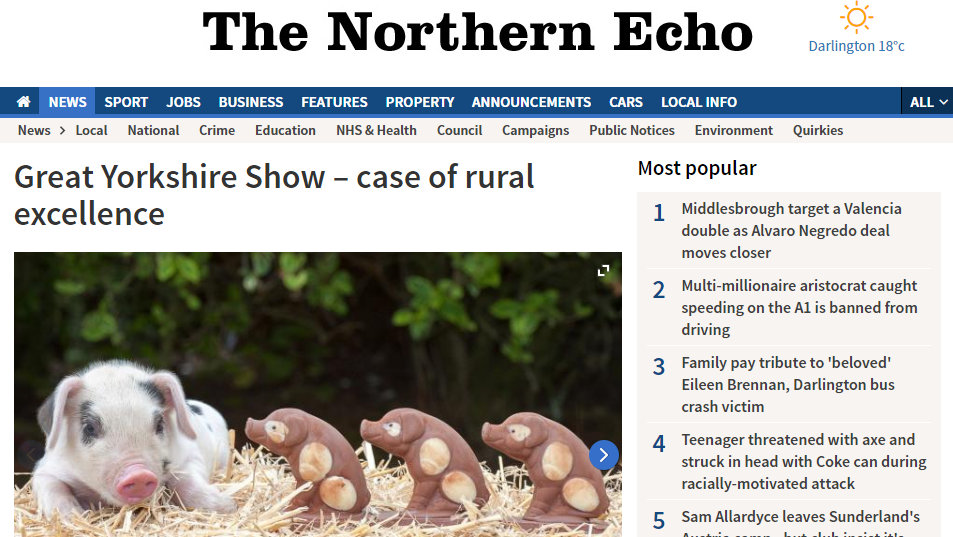 Great Yorkshire Show – case of rural excellence