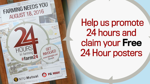 Help us promote 24 hours and claim your free posters