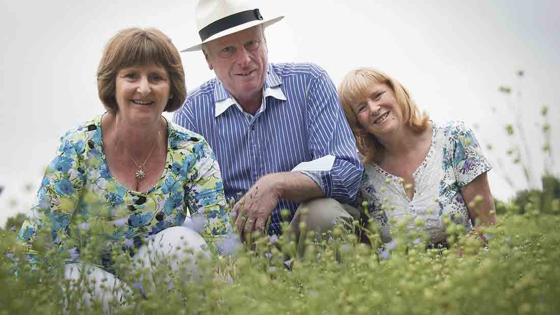 Linseed benefits prove to be successful for farming health business