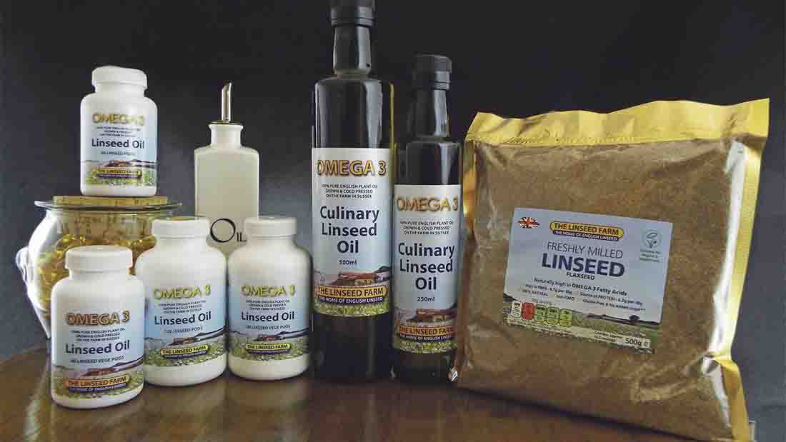 Linseed Farm range of products