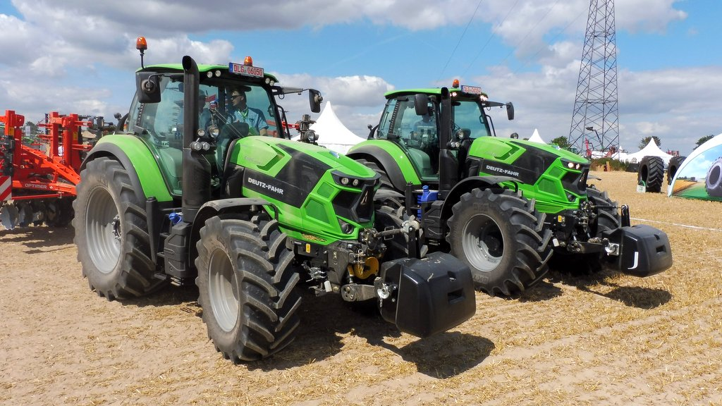 New transmission takes centre stage at Deutz Fahr 6 Series launch