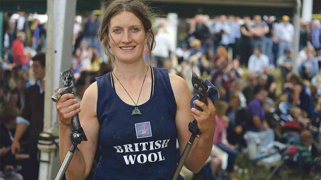 Marie Prebble: 'The next couple of months will be busy selling lambs'