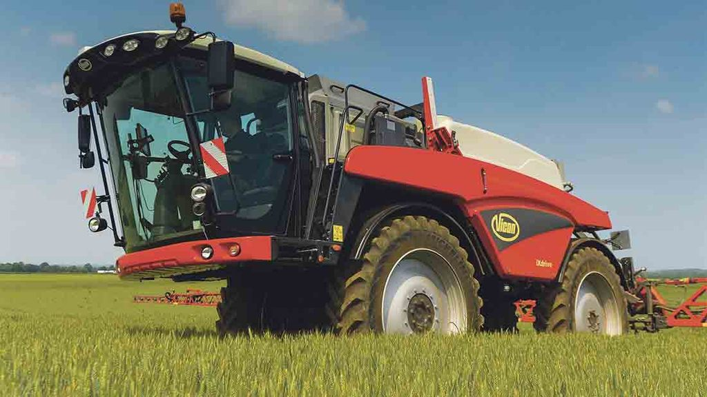 VIDEO: Can Vicon's new iXdrive self propelled sprayer compete?