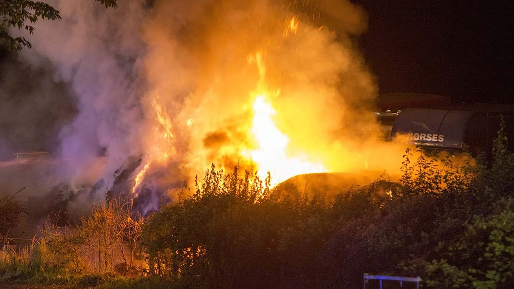 Teen arsonist causes £400,000 worth of damage after setting fire to farm building