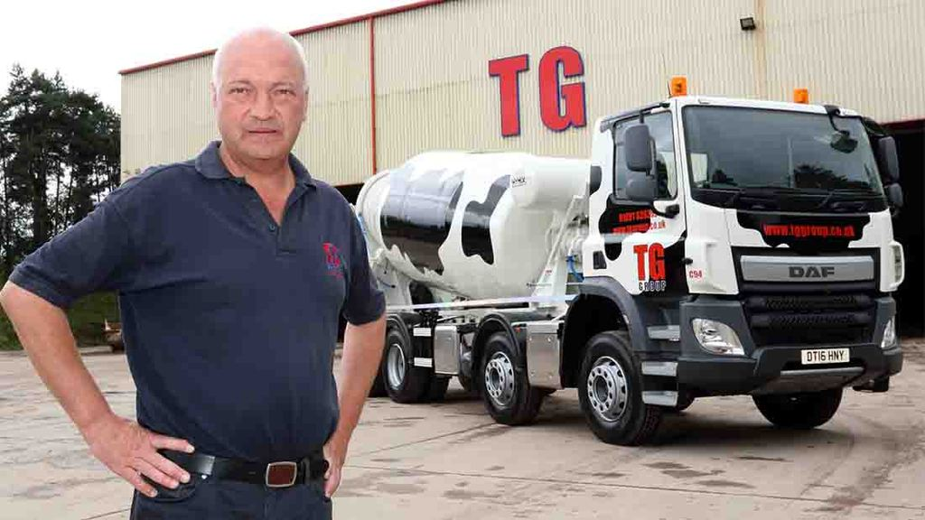 Shropshire concrete business pledges support for local dairy farmers