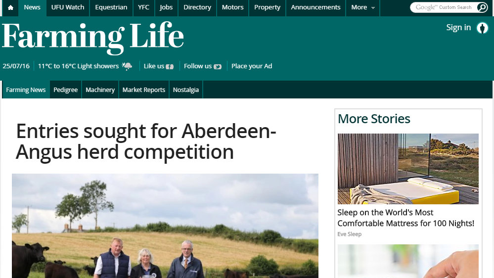 Entries sought for Aberdeen-Angus herd competition