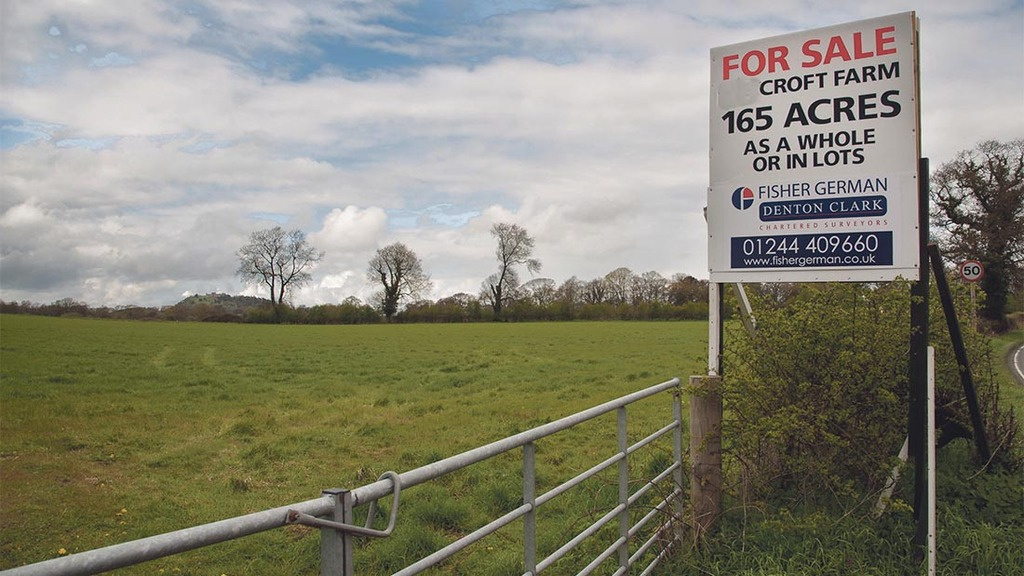 Brexit could drive down farmland values