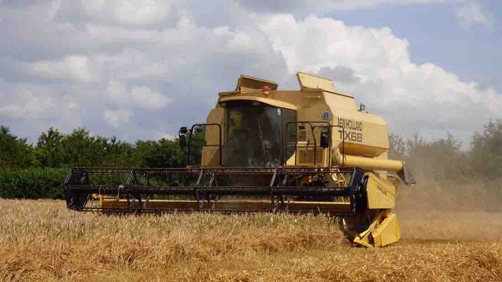 Barley harvest well under way in Gloucester