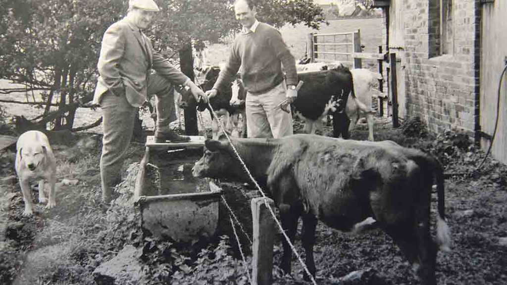 Lord Plumb has worked with many farmers throughout his career
