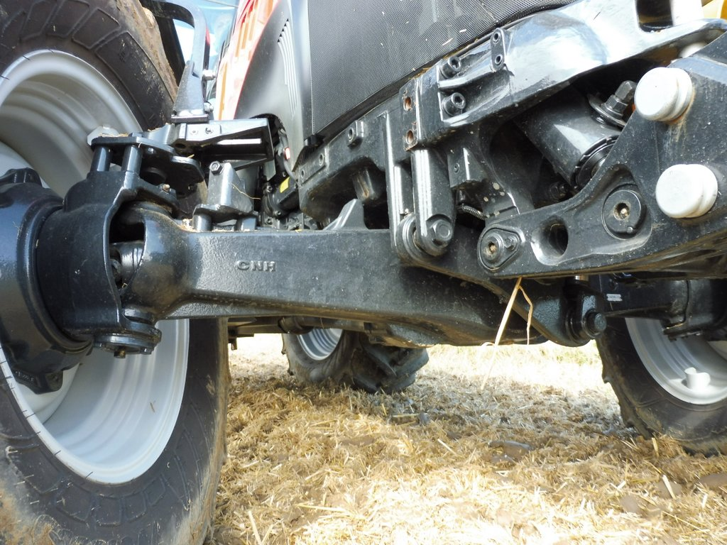 Tractor Front Suspension : Case ih focuses on mixed farming tractors for its latest
