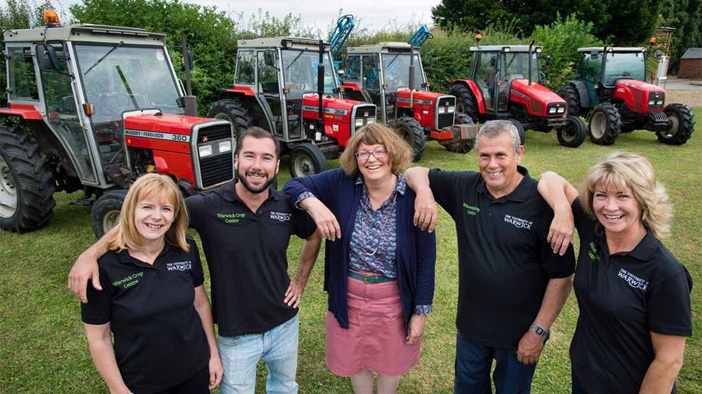 Warwick Crop Centre joins '70 tractors for 70 years' celebrations