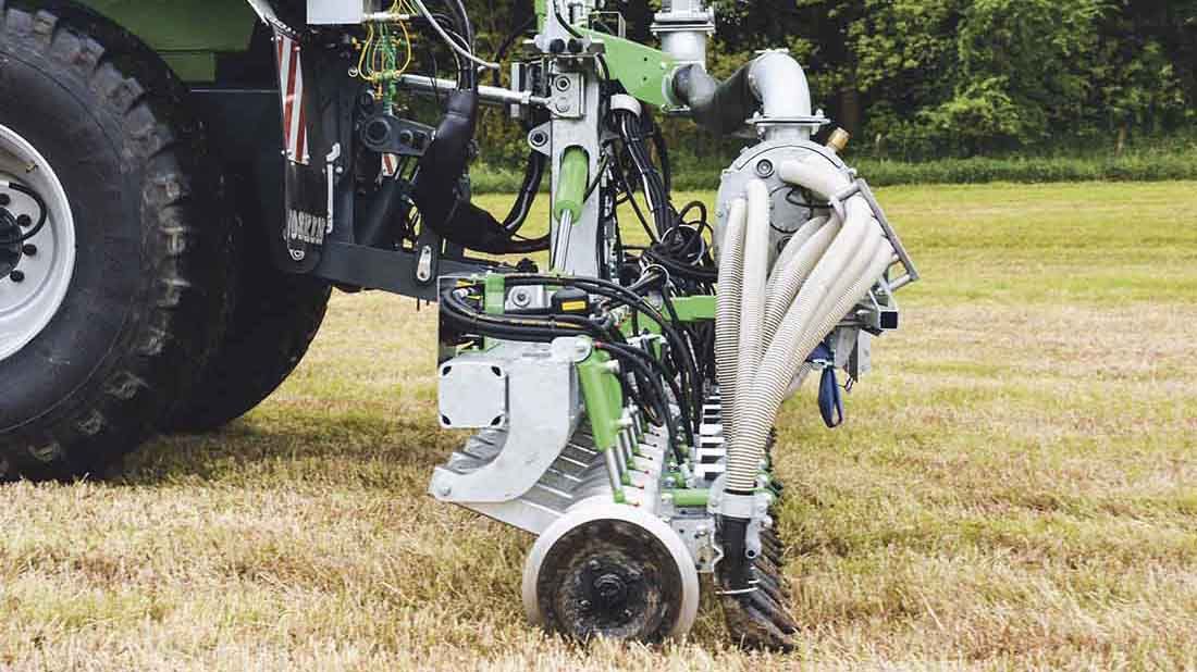 New disc injector offers section control