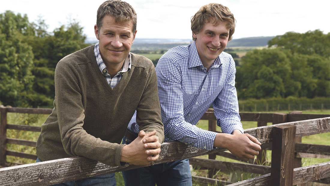 Ambitious brothers divide labour on family farm