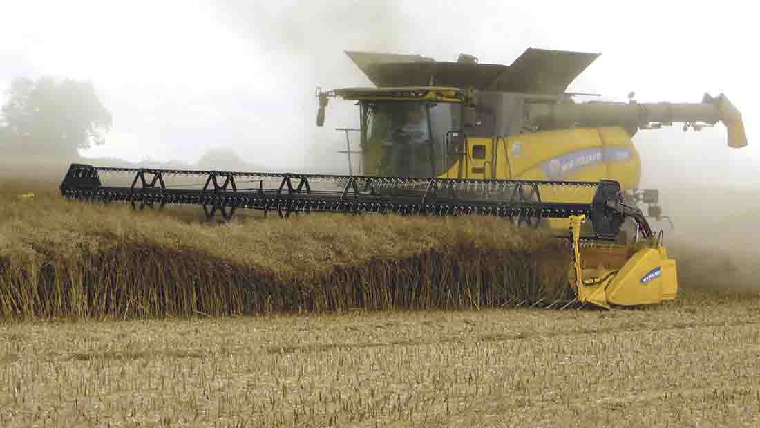 Three combines to two harvesters makes sense