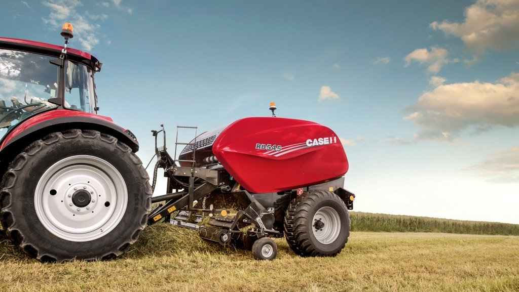 Case IH updates its round balers