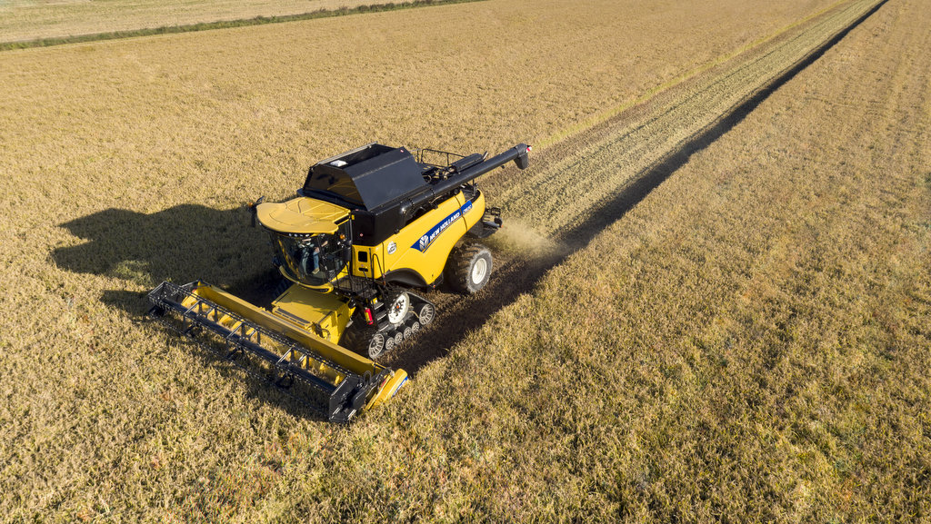 Rotary combine updates for New Holland