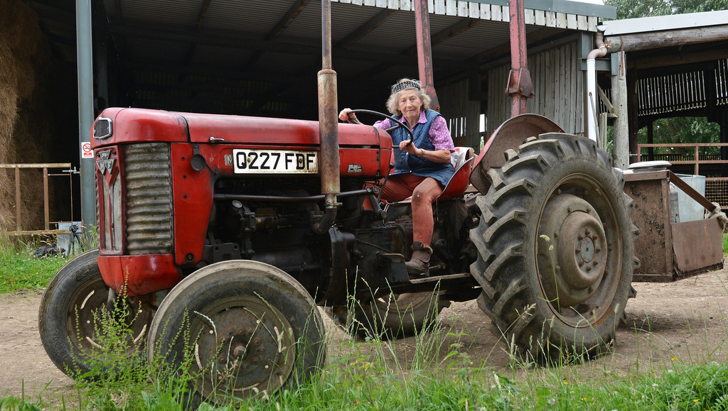 84 year old force of nature looks set to farm forever