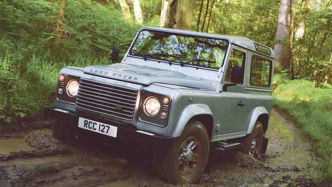 The increase in thefts is thought to be due to the Defender's new 'classic car' status