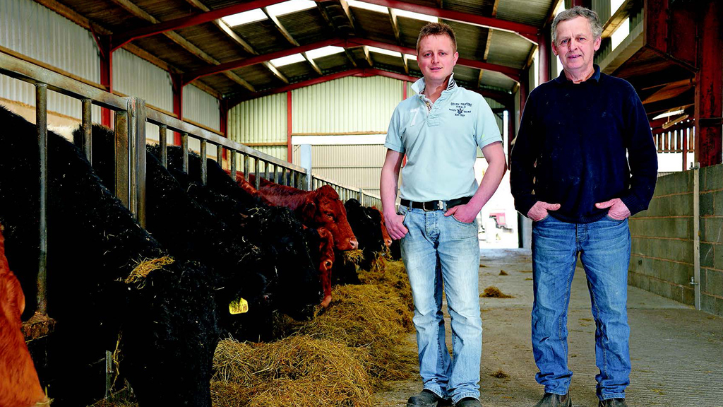 Adrian and Geraint Williams' system on their upland farm has worked well for many years.
