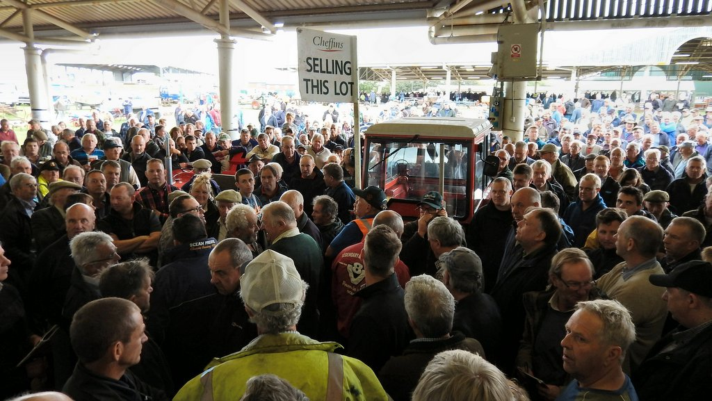 Classic machinery sale sees tractors reach record prices