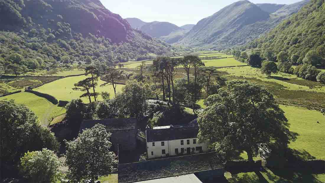 The National Trust bought Thorneythwaite Farm for £950,000 - £20,000 more than the guide price