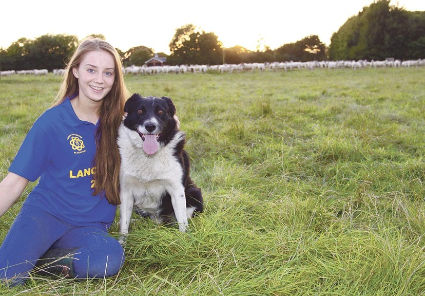 Megan Walker is thankful for her agricultural upbringing