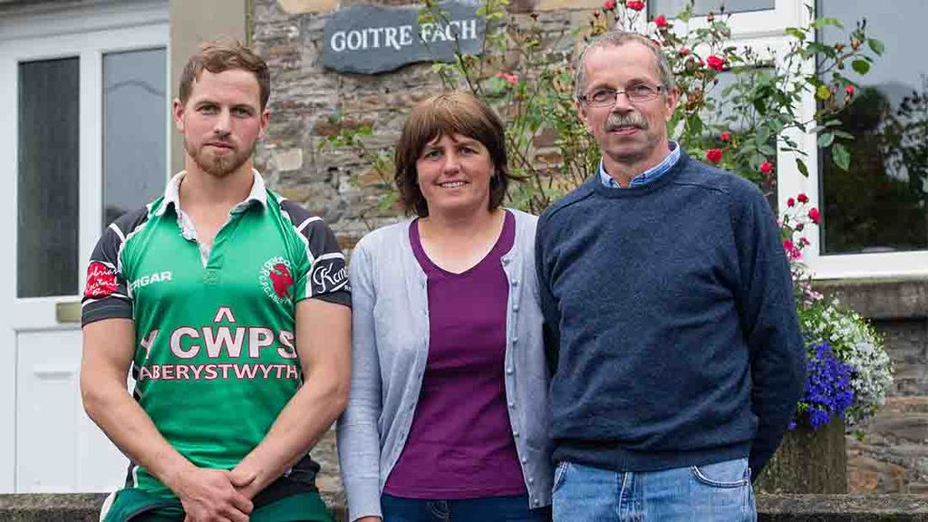 Berrichons make the grade at Goitre Fach