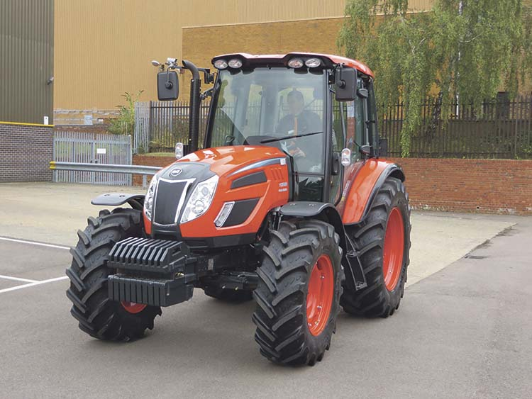 Kioti tractors back in the game - NEWS - Farmers Guardian