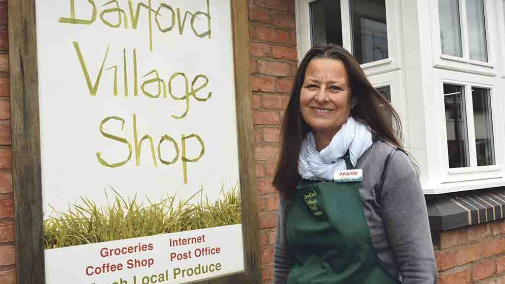Villagers take innovative steps to save local farm shop