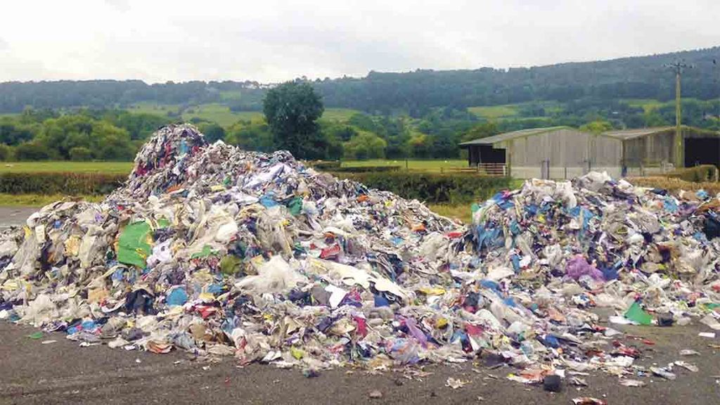 Farmers to remain responsible for clearing fly-tipped waste