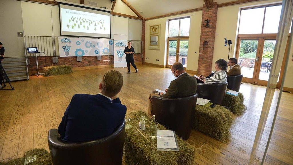 Pitch perfect in Agri-Innovation Den