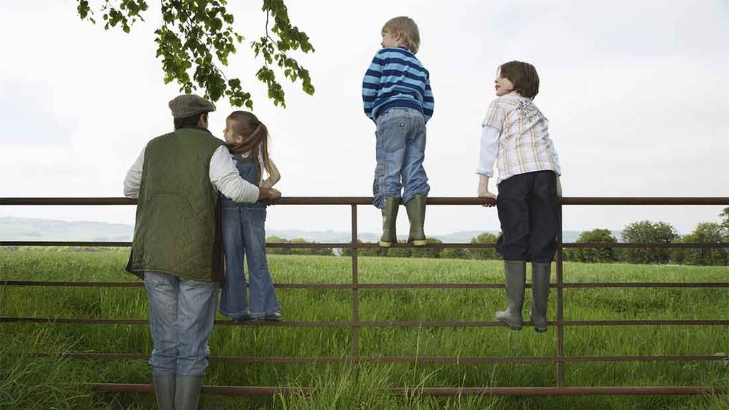 When do children stop wanting to be farmers?