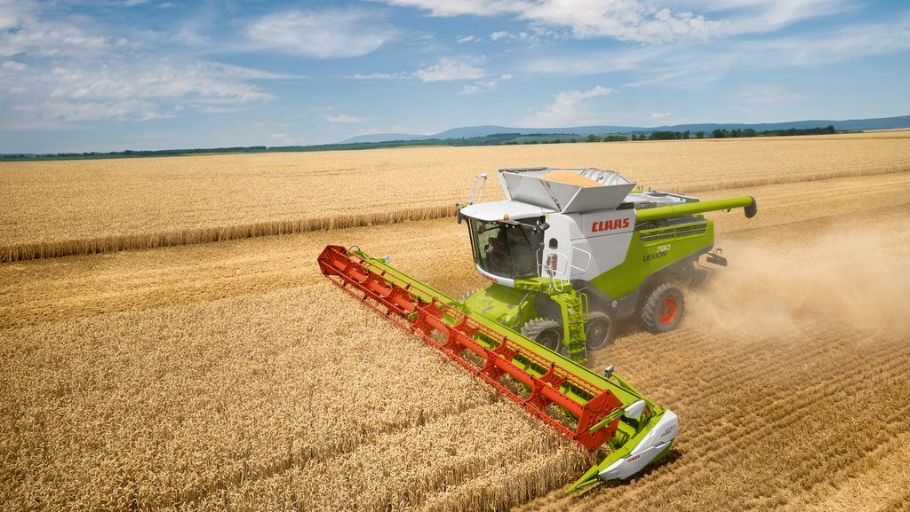 Claas produces 50,000th Lexion combine