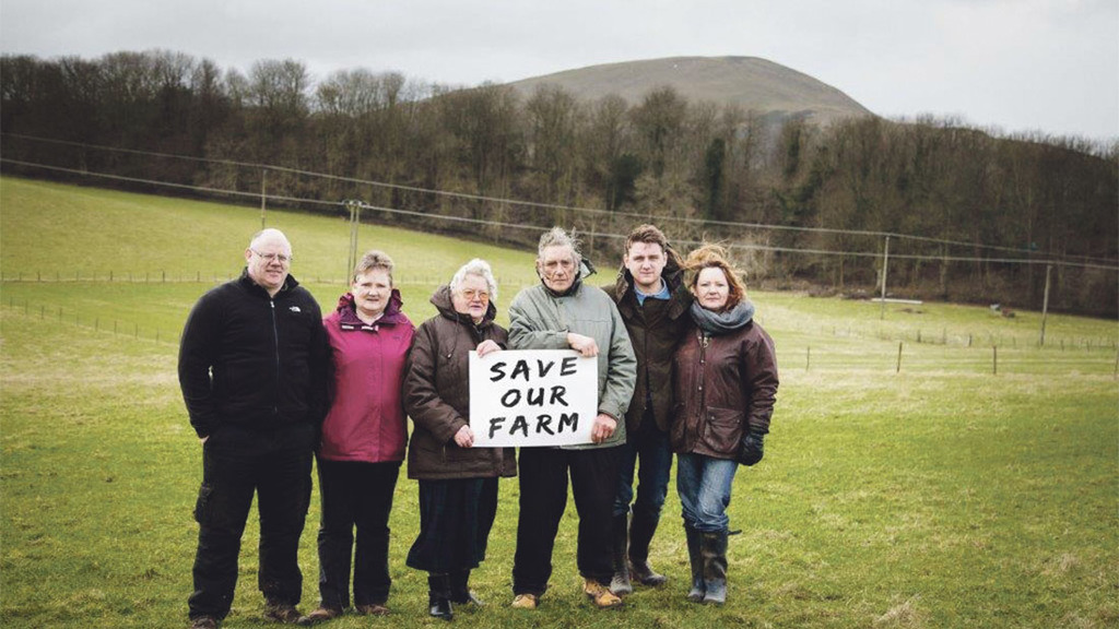 Scottish farmer faces losing tenancy over film studio proposal